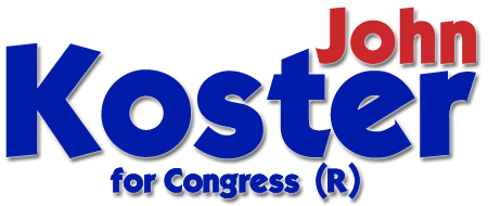 John Koster for US Congress Washington